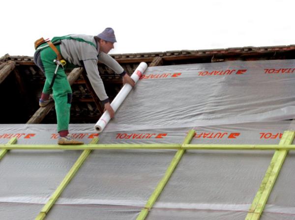 Гидроизоляция крыши под металлочерепицу