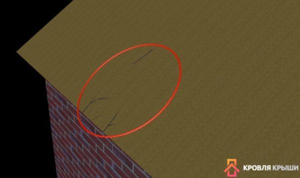 Осмотр поверхности на наличие повреждений