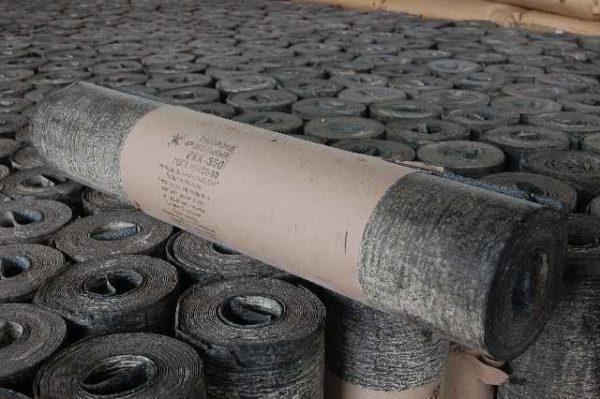 Рубероид делают на основе строительного картона