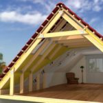 Крыша мансардного типа - варианты