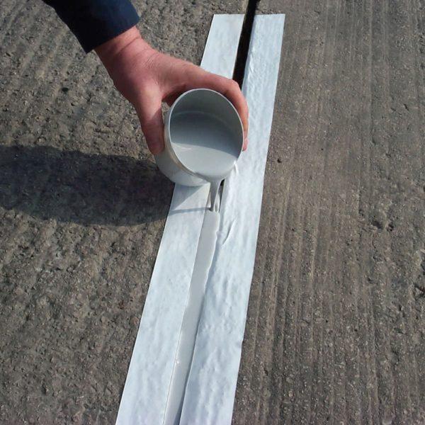 Нанесение герметика заливочным способом