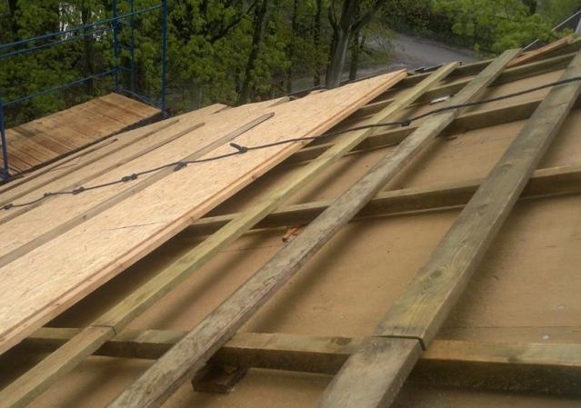 От протечек крыши ремонт