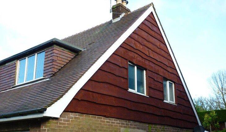Отделка фронтона крыши - выбор материала и пошаговые инструкции! || Чем закрыть фронтоны бани