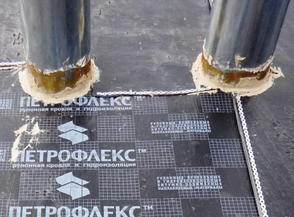 Полиуретановый герметик МАГНЭТИК КС-35 - пример использования