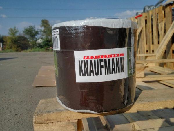 Битумная лента Knaufmann коричневая