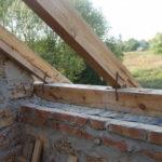 Мауэрлат для двухскатной крыши