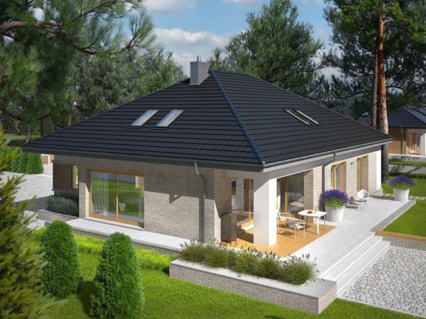 Как сделать крышу четырехскатную