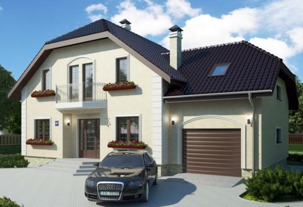 Ломаная форма крыши позволяет рациональней использовать пространство мансарды, но обходится дороже