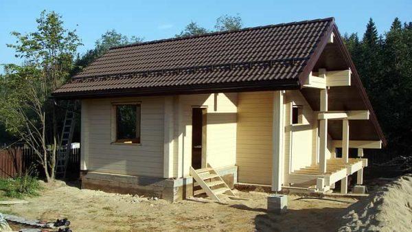 Оптимальный угол наклона двухскатной крыши