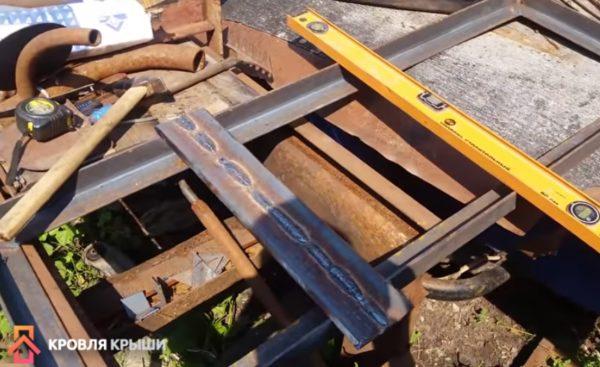 Изготовление подвижного столика