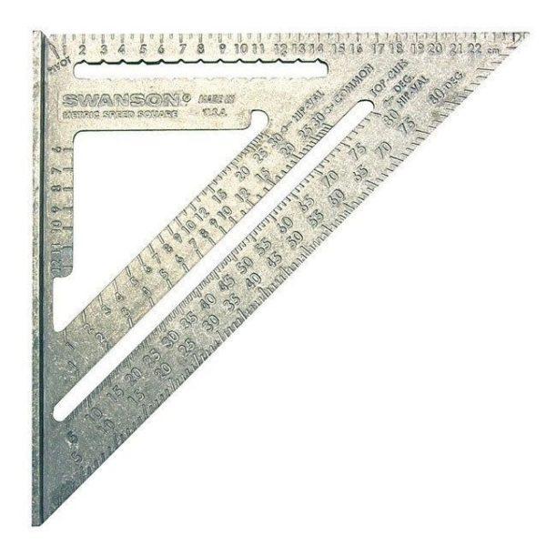 Угольник Свенсона метрический
