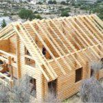 Крыша с висячими стропилами