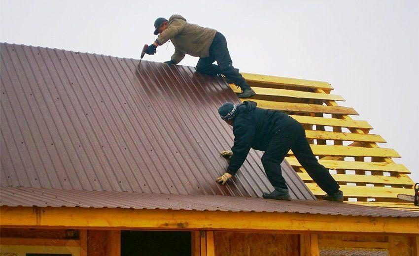 Строим крышу дома своими руками пошагово: подробная информация