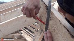 Отчерчивание плоскости для обрезки с другой стороны доски