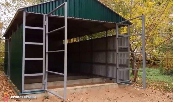 Каркас створок распашных ворот