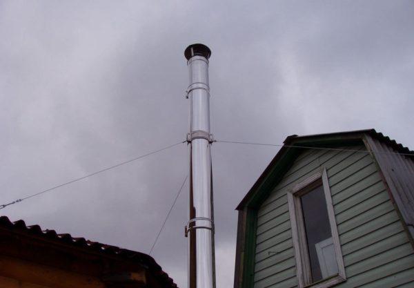 Слишком большая длина дымоходов становится причиной появления серьезных неприятностей