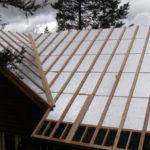 Утепление крыши пенополистиролом