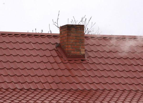 Где расположить дымоход