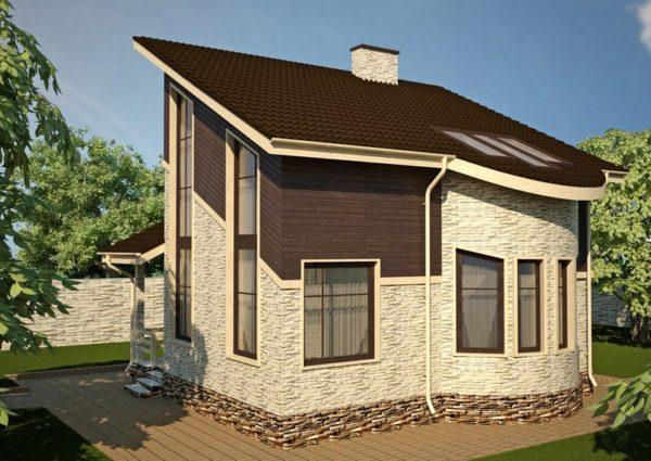 Выбор кровельного покрытия для односкатной крыши