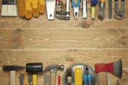 Заготовка материалов, инструментов и оборудования