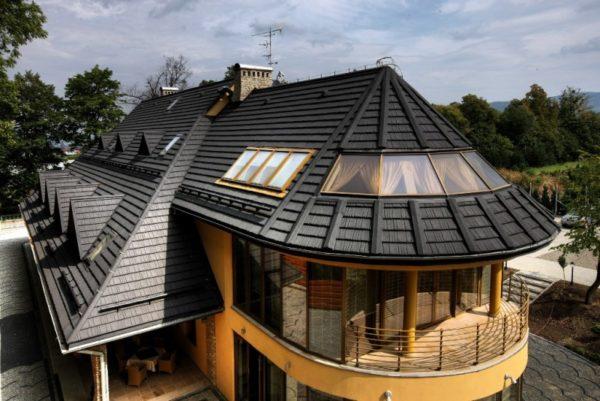 Крыша обязательно должна быть надежной