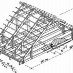 Перед началом работ следует нарисовать эскиз стропильной системы