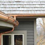 Установка слива для крыши