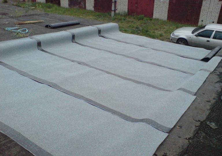 Как покрыть крышу гаража бикростом своими руками фото 977