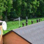 Высота трубы относительно конька крыши