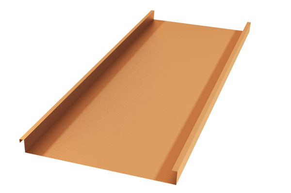 Фальцевые панели из непрофилированных листов подходят для любых видов крыш