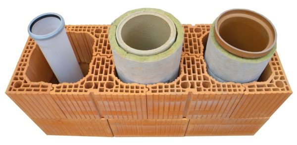 Керамическая труба для дымохода