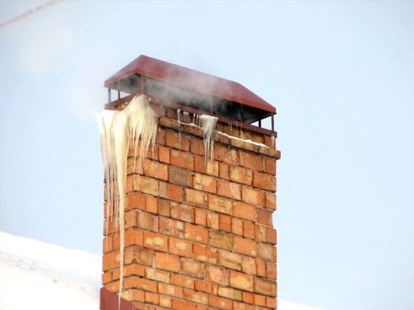 Конденсат в дымоходе