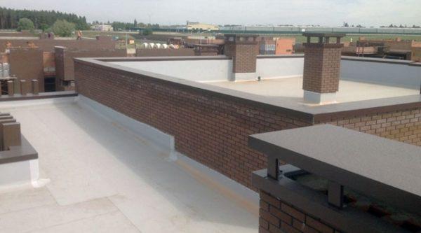 Теплоизоляция плоской крыши