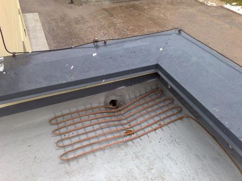 Внутренний водосток крыши