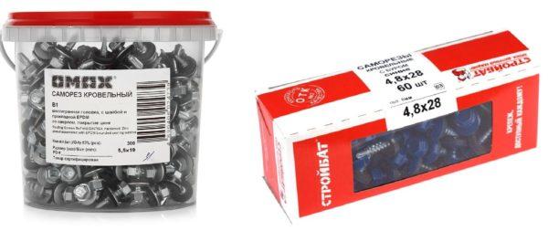Не все изготовители указывают полную информацию на упаковке саморезов
