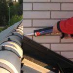 Чем заделать стыки металлической крыши
