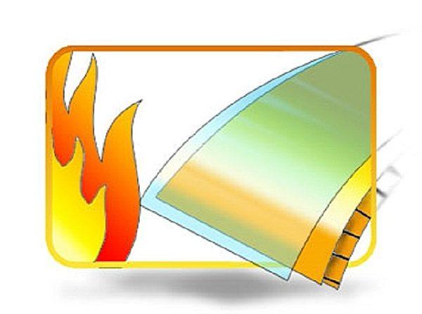 Поликарбонат относится к пожаробезопасным материалам