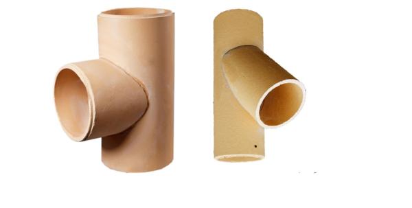 Тройники керамические
