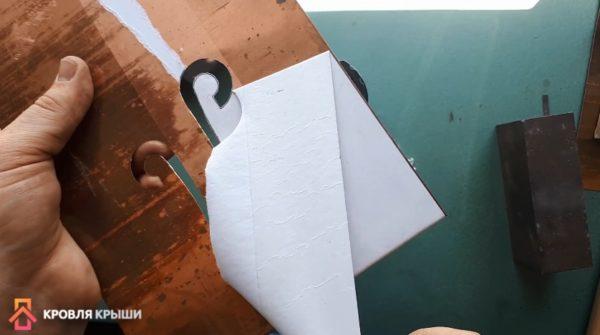 Очистка пластины от бумаги