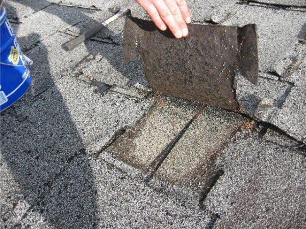 Большое количество слоев увеличивает нагрузку на основание крыши