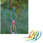 Разноцветные пластиковые хомуты