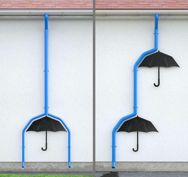 Пластиковые водостоки могут служить украшением фасада