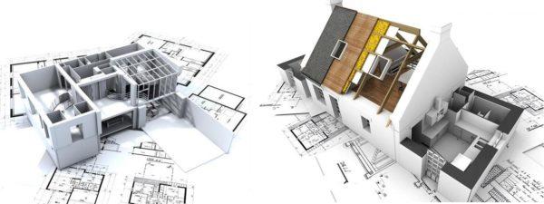 При проектировании учитывается не только надежность конструкции, но и сметная стоимость
