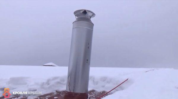 Место расположения вентиляционного выхода выбирайте с учетом имеющихся дымовых труб