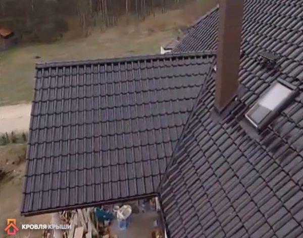 Крыша, на которой будет установлена молниезащита