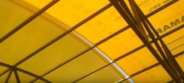 Листы нужно стыковать очень тщательно, чтобы в покрытии не оставалось зазоров