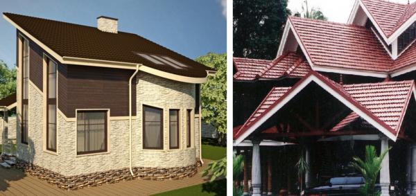 Форма крыши прямо влияет на сложность монтажа и строительную смету
