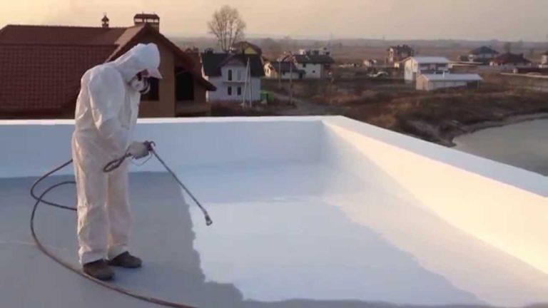 Полимерная плоская крыша