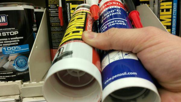 Выбирая герметик, изучайте инструкцию на упаковке