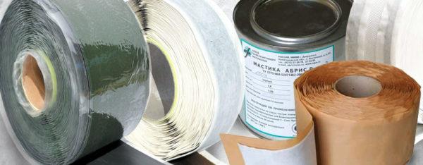 Неотверждаемые составы часто выпускаются в виде герметизирующих лент